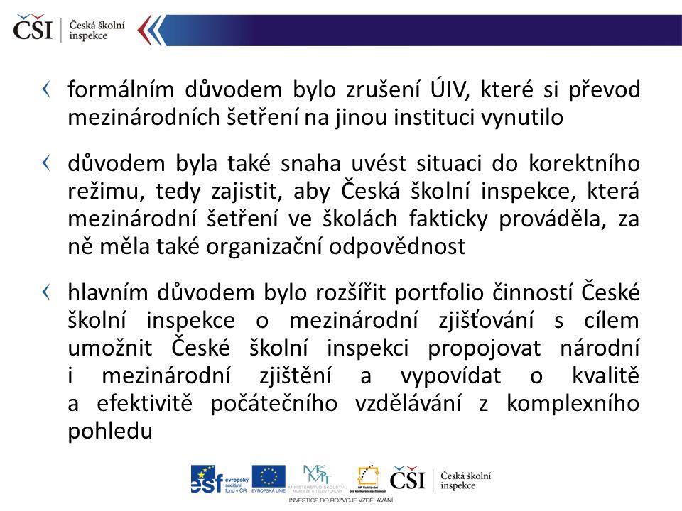 národní zpráva sekundární analýzy formulace doporučení pro vzdělávací politiku Reakce na zjištění