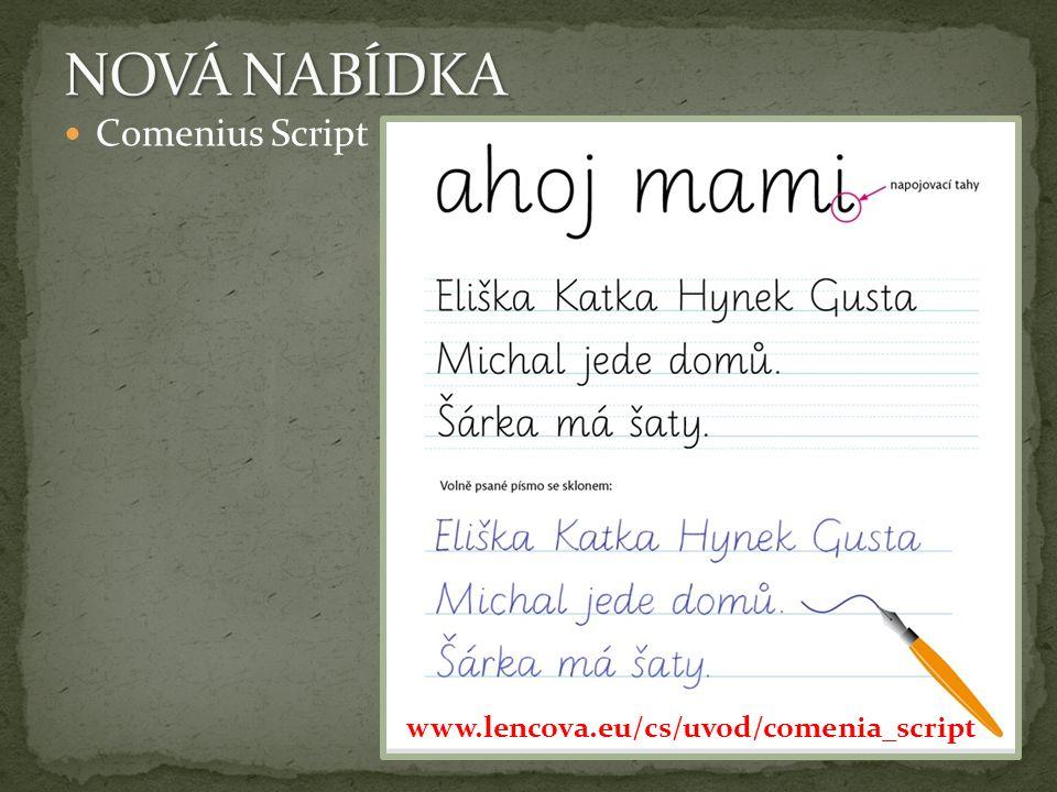 Comenius Script www.lencova.eu/cs/uvod/comenia_script