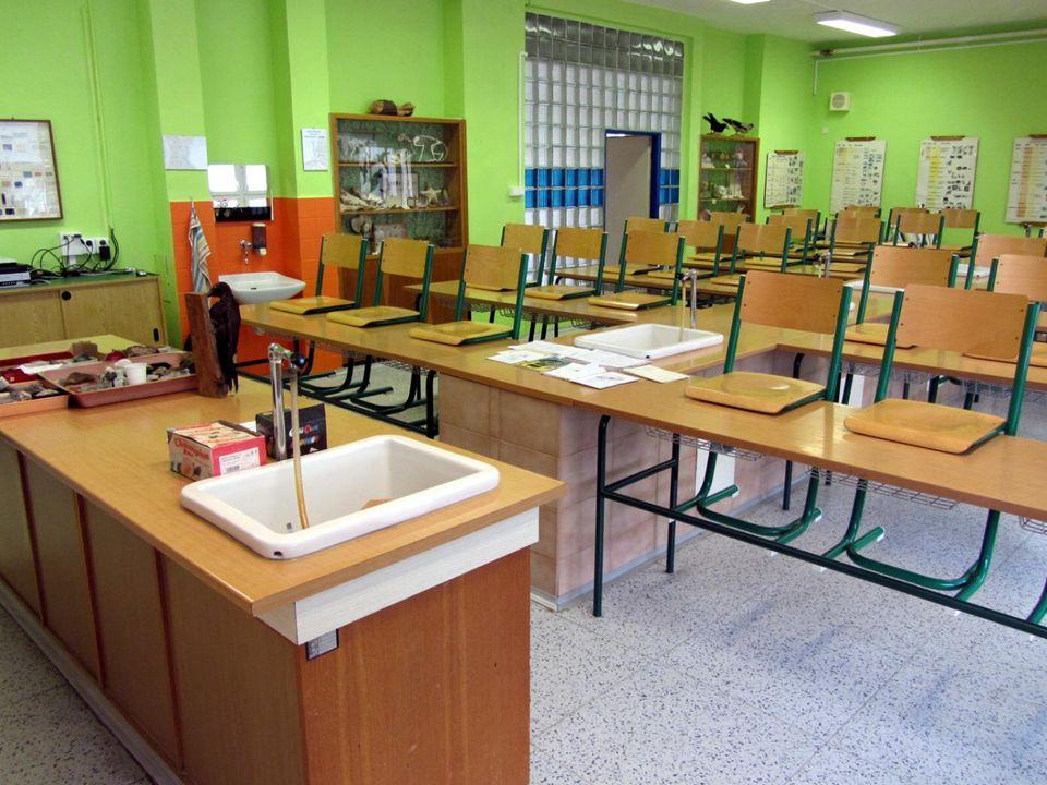 Provoz školní družiny dle požadavků rodičů Informační centrum s odpoledním provozem Relaxační místnost Divadelní sál s kapacitou 120 míst Posilovna Výtvarný ateliér Školní knihovna Školní bazén