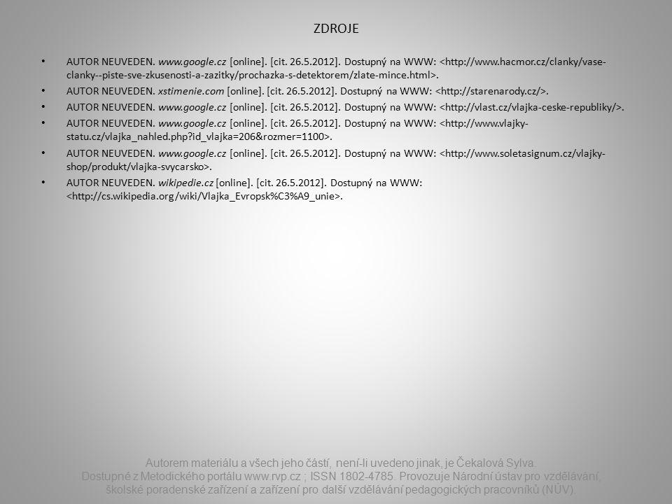 ZDROJE AUTOR NEUVEDEN. www.google.cz [online]. [cit.