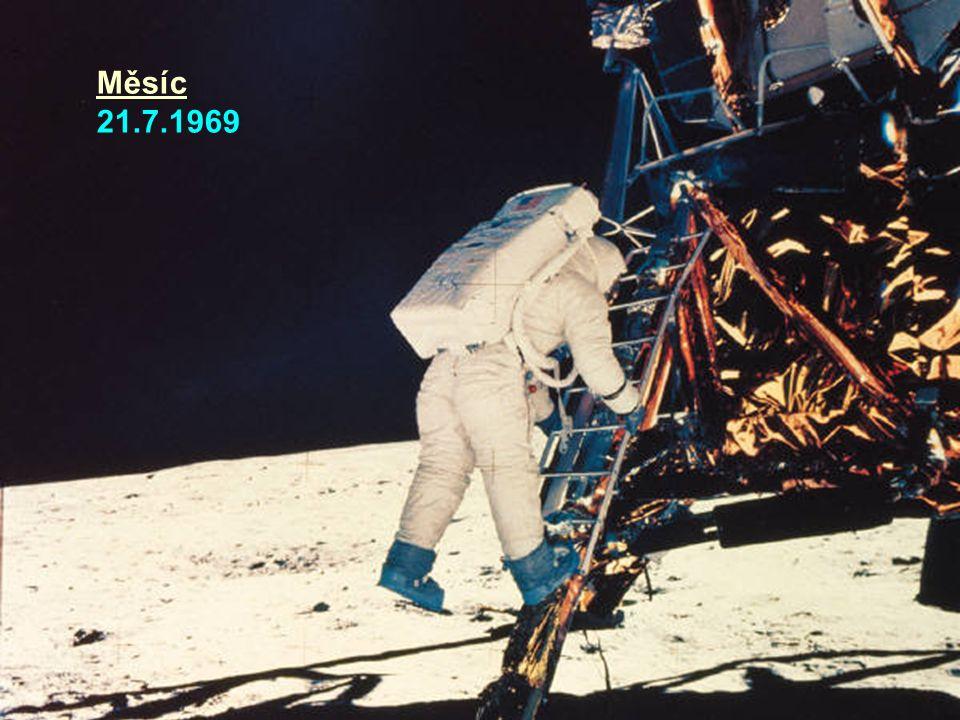 Měsíc 21.7.1969