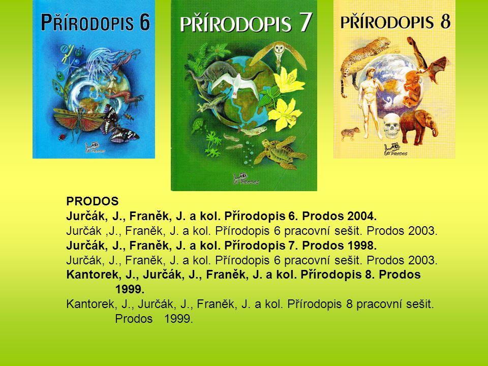 PRODOS Jurčák, J., Franěk, J. a kol. Přírodopis 6.
