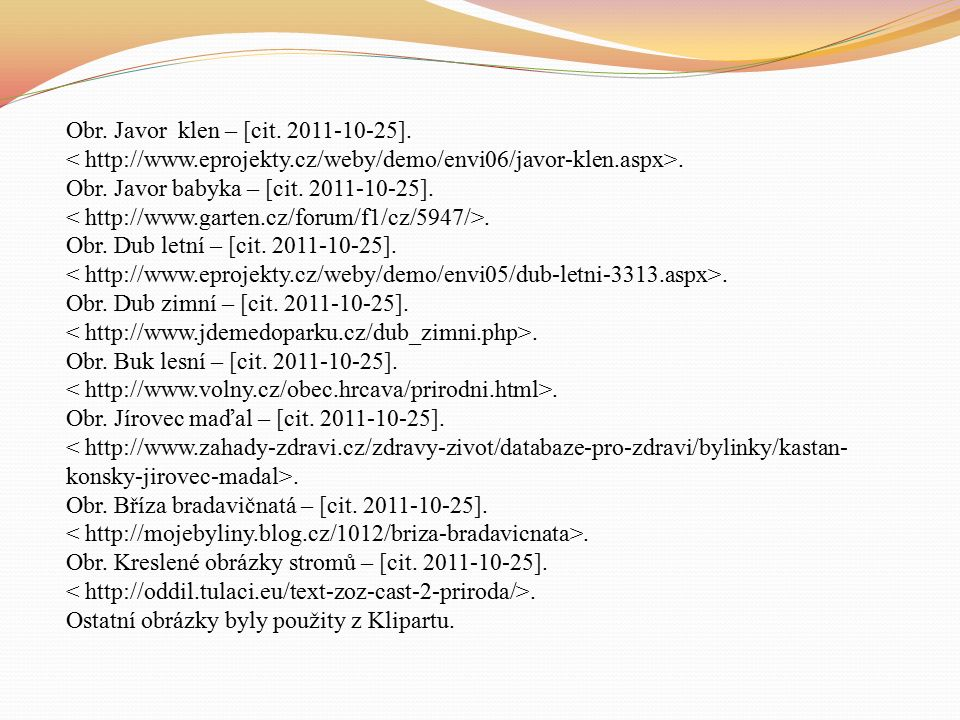 Obr. List buku – [cit. 2011-10-25].. Obr. Dvounažka – [cit.
