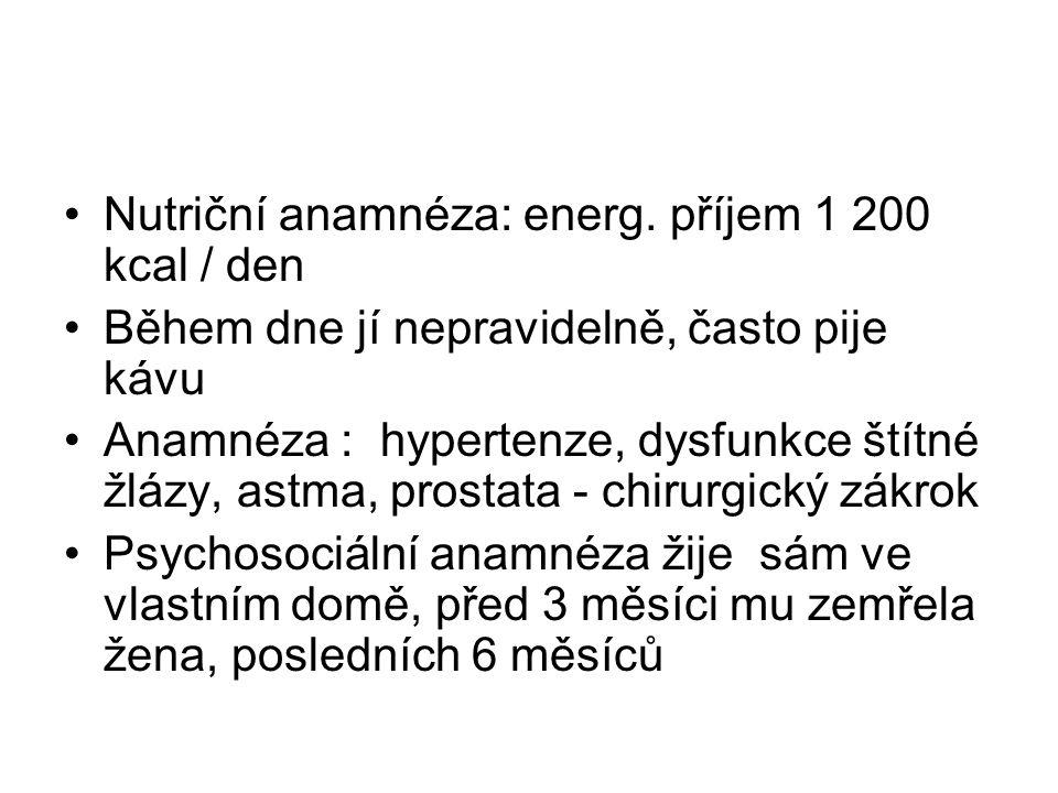 Nutriční anamnéza: energ.