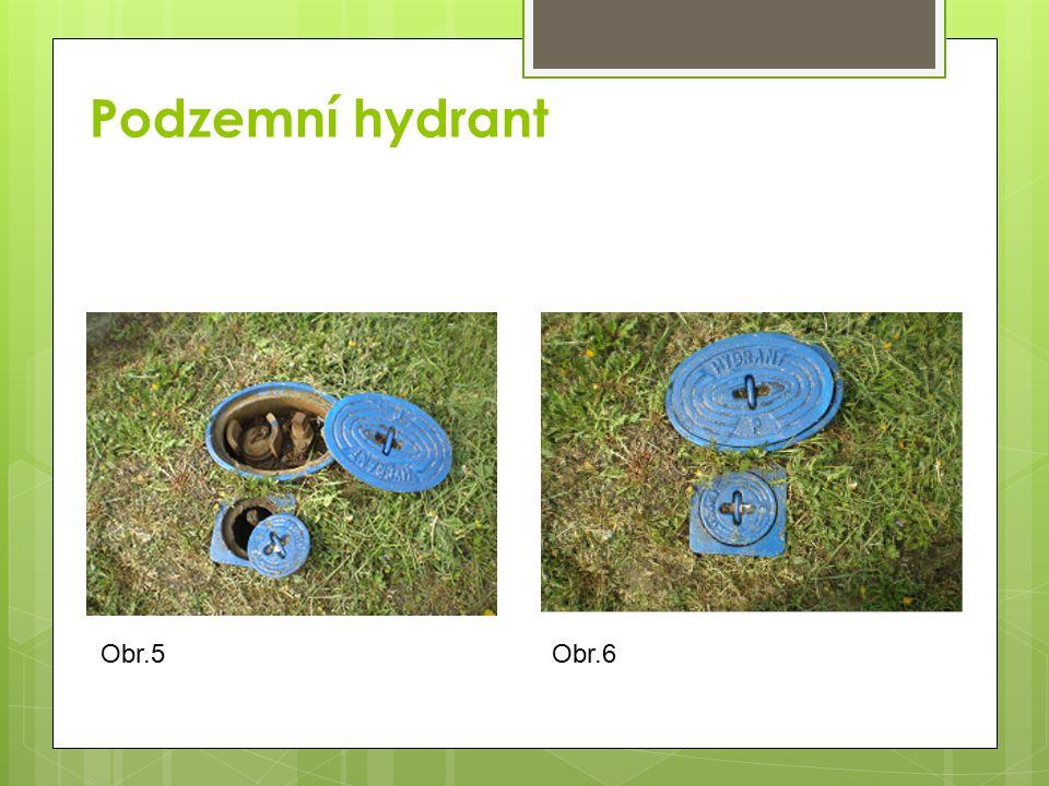 Hydrantový nádstavec a hydrantový klíč Hydrantový nádstavec Hydrantový klíč Obr.7 Obr.8
