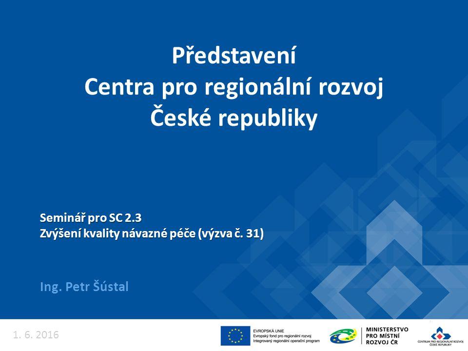 Podání žádostí POUZE přes MS2014+ Automatická registrace žádosti Automatické předložení na příslušné krajské oddělení Centra – krajské pracoviště pro Liberecký kraj, odd.