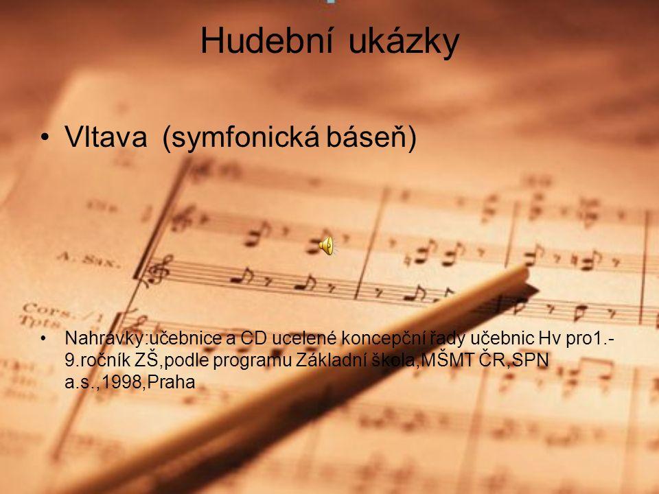 Dílo 9 oper ( poslední nedokončil – Viola ) cyklus symfonických básní ( Má vlast) komorní tvorba ( Z mého života…) skladby pro klavír, polky, písně symfonické skladby (Richard III., Valdštýnův tábor…..)