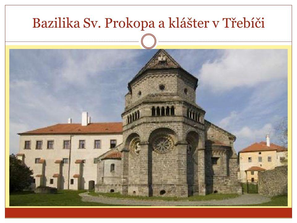 Bazilika Sv. Prokopa a klášter v Třebíči