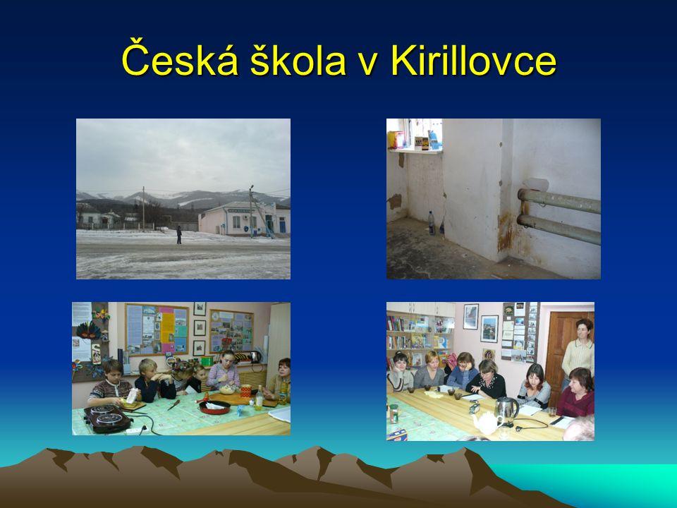 Česká škola v Kirillovce