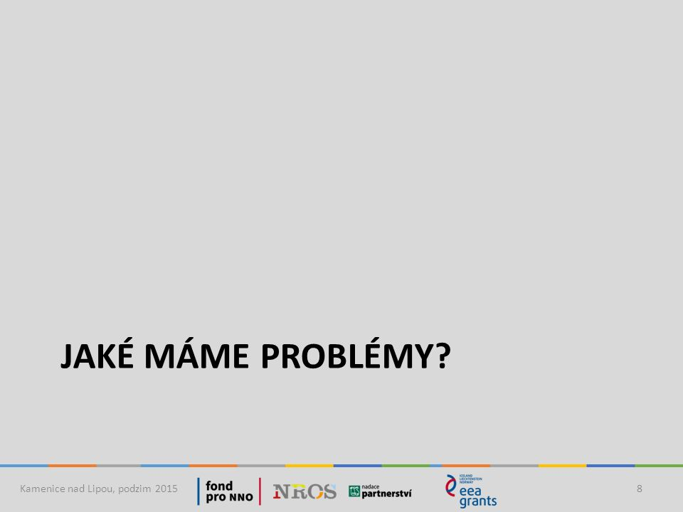 Problémy, které mají prioritu Kamenice nad Lipou, podzim 20159 Báze: respondenti, kteří spontánně našli problémy (n=379) Představte si, že byste byl/a starostou/starostkou, které problémy byste řešil/a přednostně.