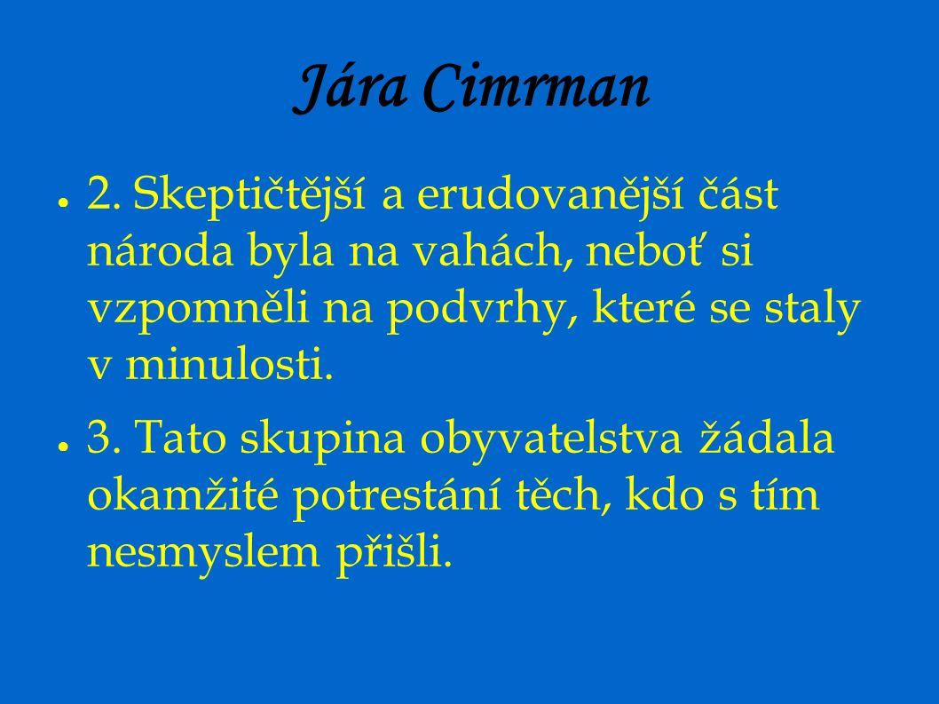 Jára Cimrman ● 2.
