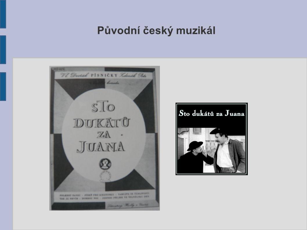 Původní český muzikál