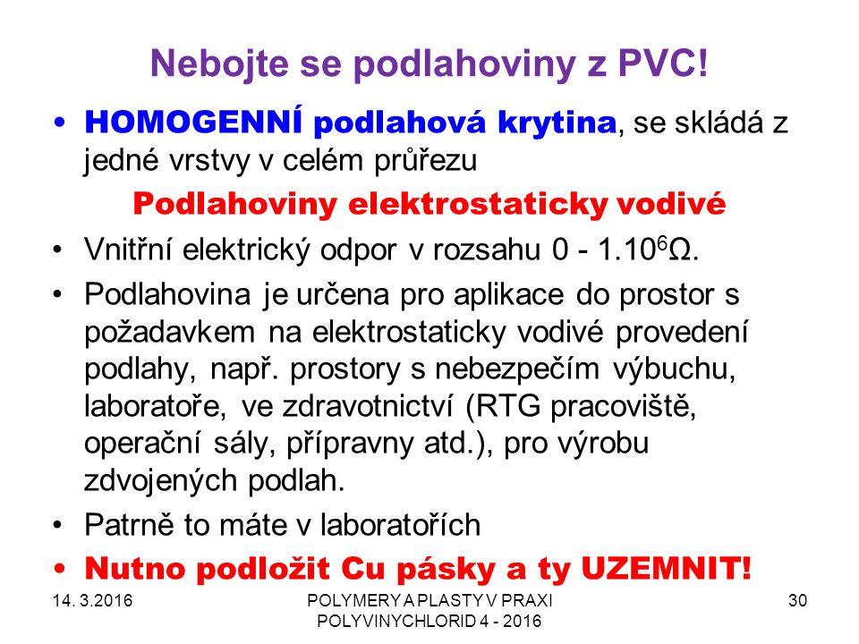 Nebojte se podlahoviny z PVC. 14.