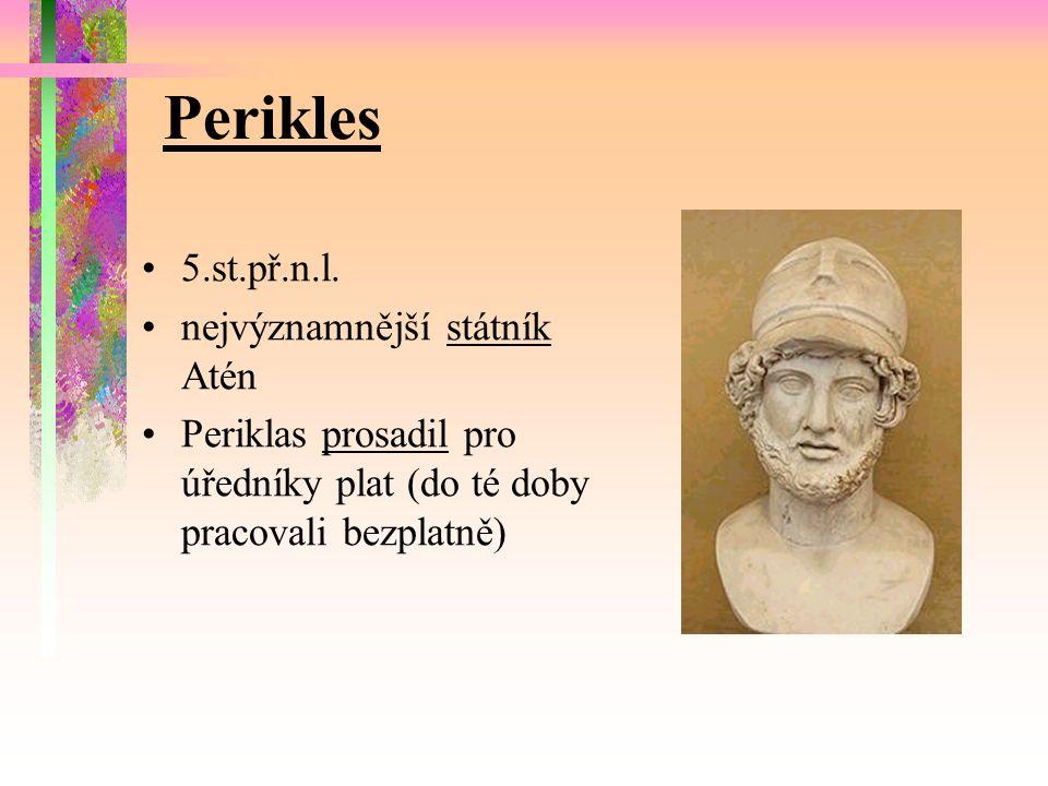 Perikles 5.st.př.n.l.