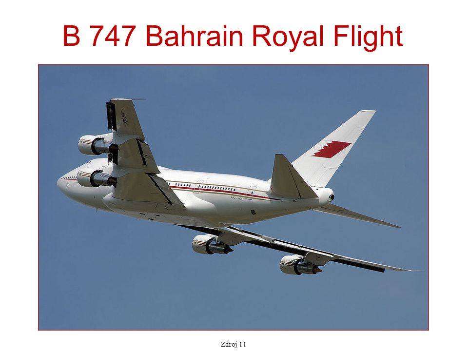 B 747 Bahrain Royal Flight Zdroj 11