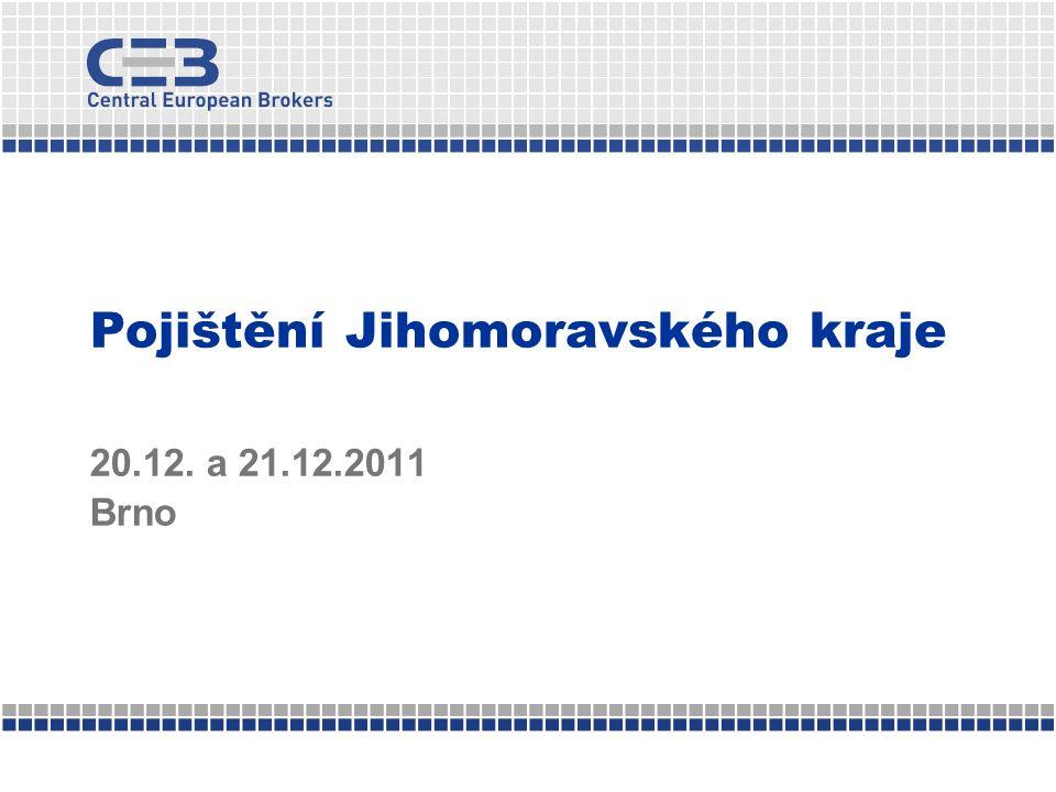 Pojištění Jihomoravského kraje 20.12. a 21.12.2011 Brno
