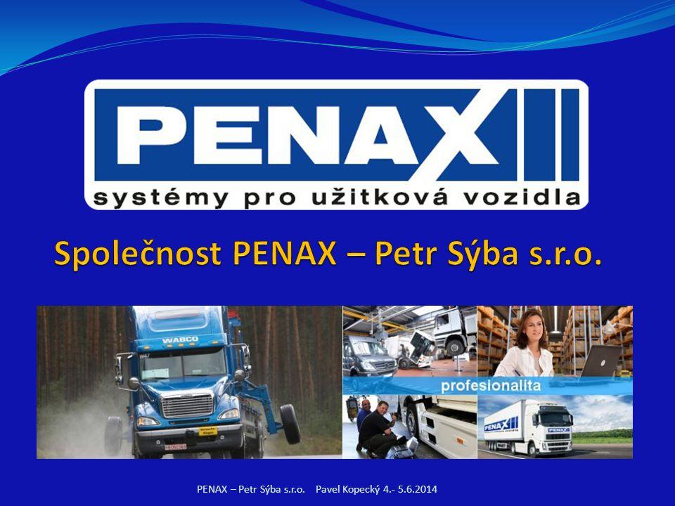 PENAX – Petr Sýba s.r.o. Pavel Kopecký 4.- 5.6.2014