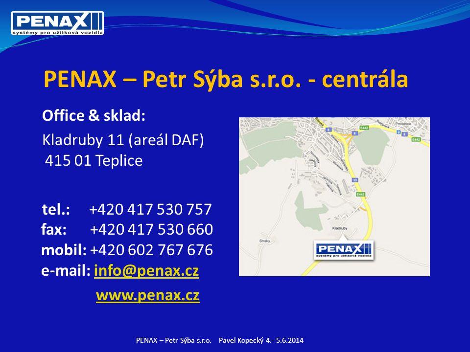 PENAX – Petr Sýba s.r.o.