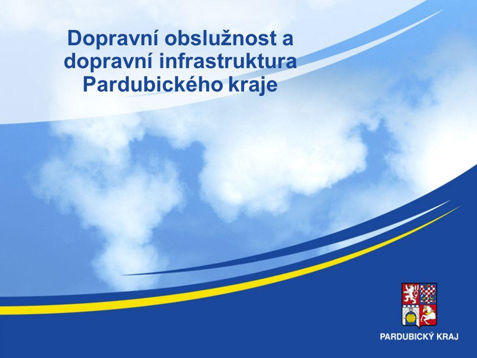 Dopravní obslužnost a dopravní infrastruktura Pardubického kraje