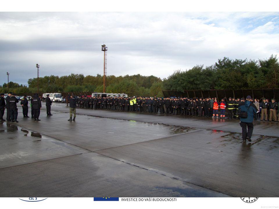© 2012 OIKT Plzeň 1. Výcviky Pořádkové jednotky Plzeňského kraje s využitím MMC