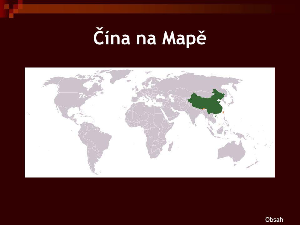 Čína na Mapě Obsah