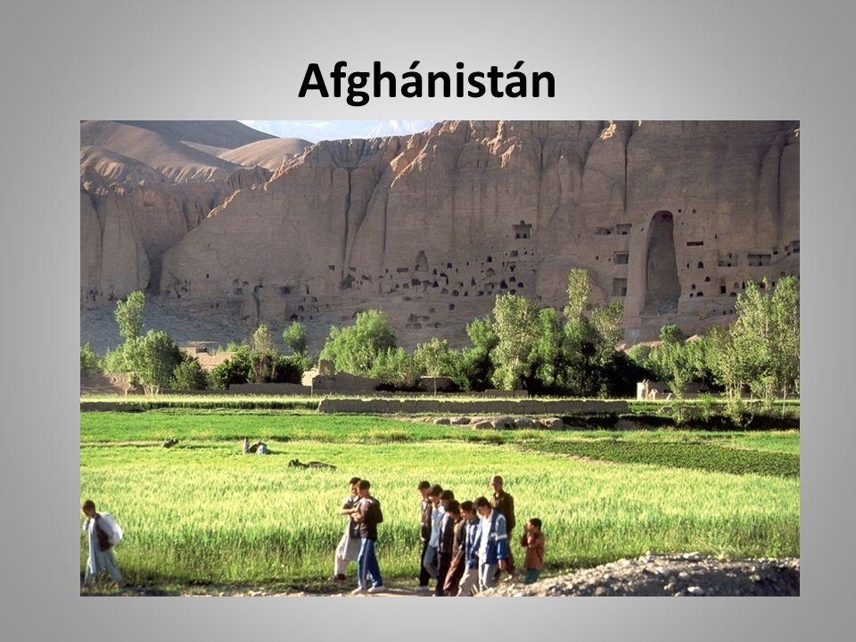 Poloha Afghánistán leží ve středu Asie. Země nemá přístup k moři.