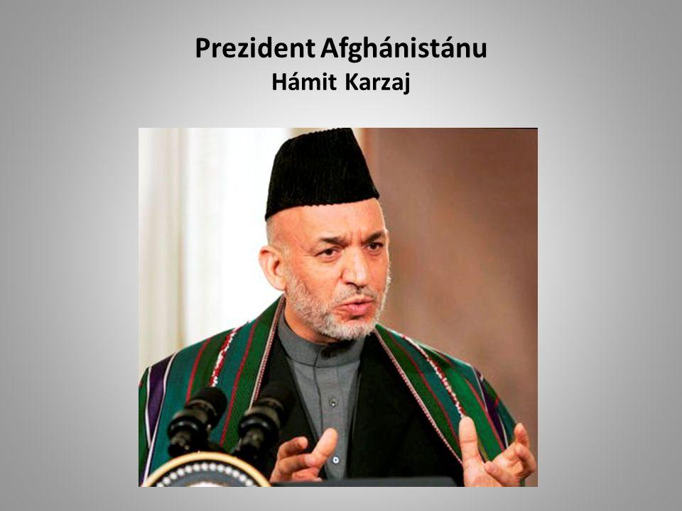 Prezident Afghánistánu Hámit Karzaj