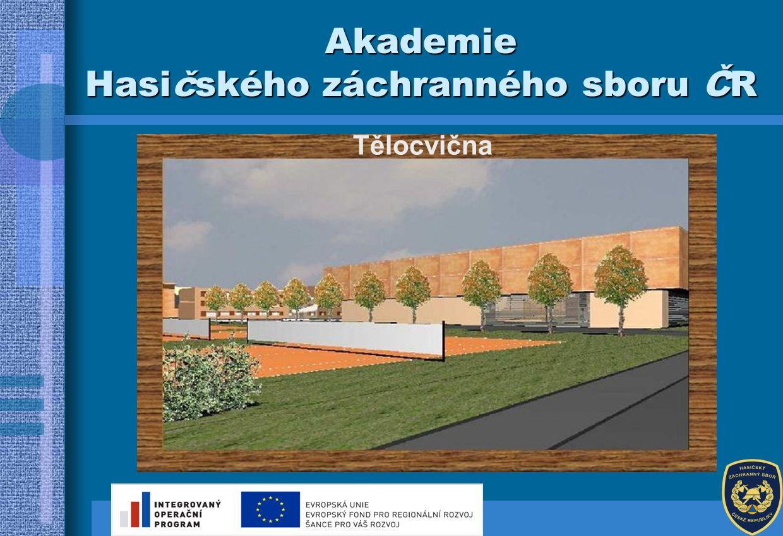 Tělocvična Akademie Hasičského záchranného sboru ČR