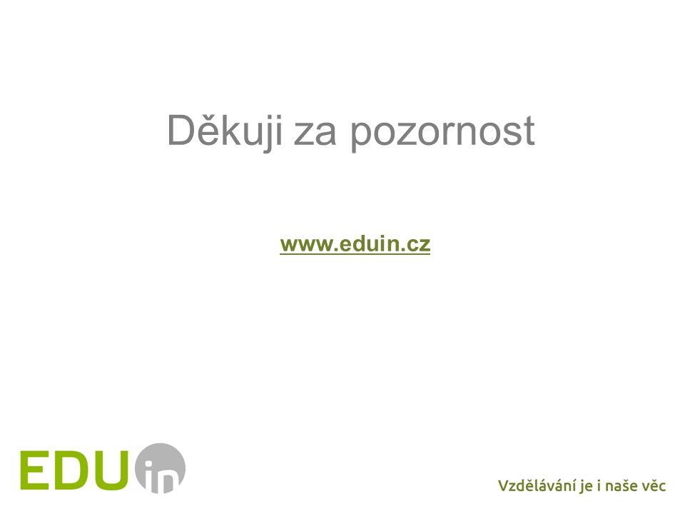 Děkuji za pozornost www.eduin.cz