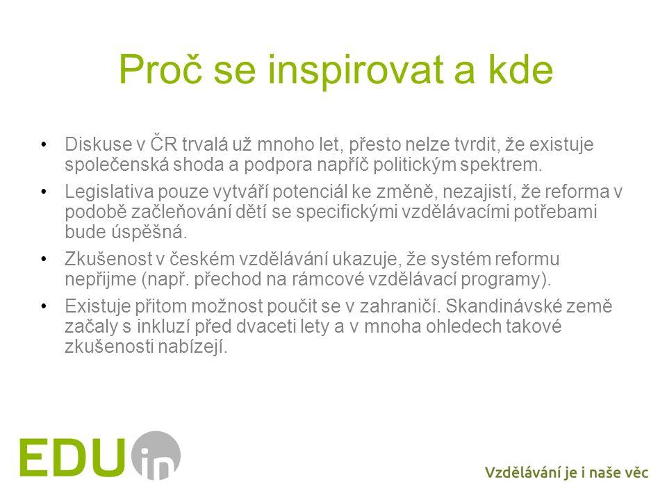 Proč se inspirovat a kde Diskuse v ČR trvalá už mnoho let, přesto nelze tvrdit, že existuje společenská shoda a podpora napříč politickým spektrem.