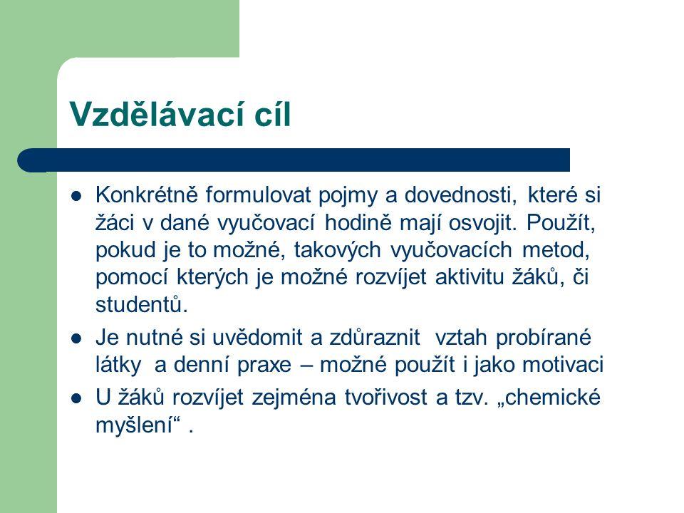 Cíle vzdělávání na gymnáziích V souladu s požadavky na vzdělávání, které jsou formulovány v Národním programu rozvoje vzdělávání v ČR (tzv.