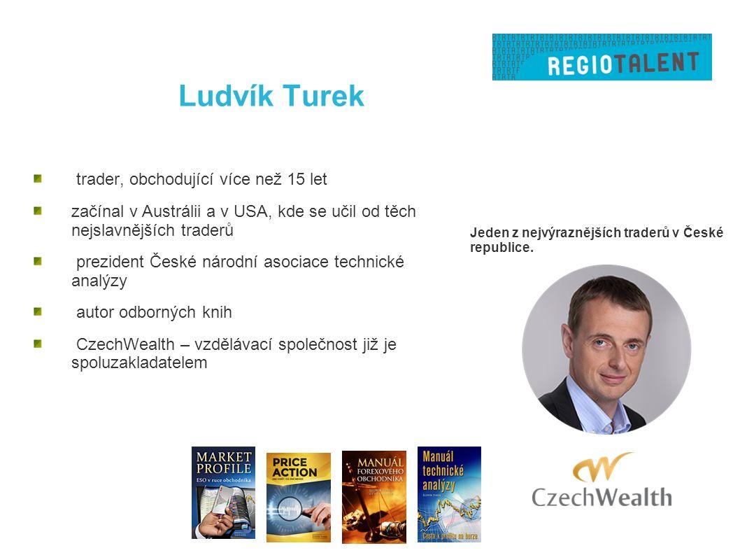 Ludvík Turek Jeden z nejvýraznějších traderů v České republice.