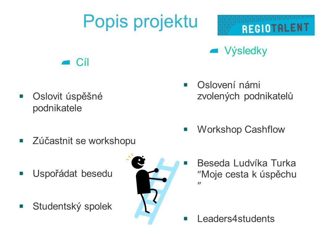 Postup/ metodologie 2.týden rozdělení práce kontaktování vhodných kandidátů 3.