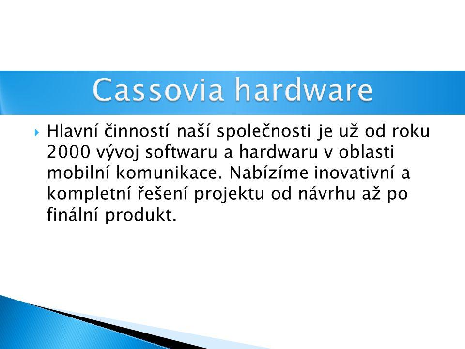  Hlavní činností naší společnosti je už od roku 2000 vývoj softwaru a hardwaru v oblasti mobilní komunikace.