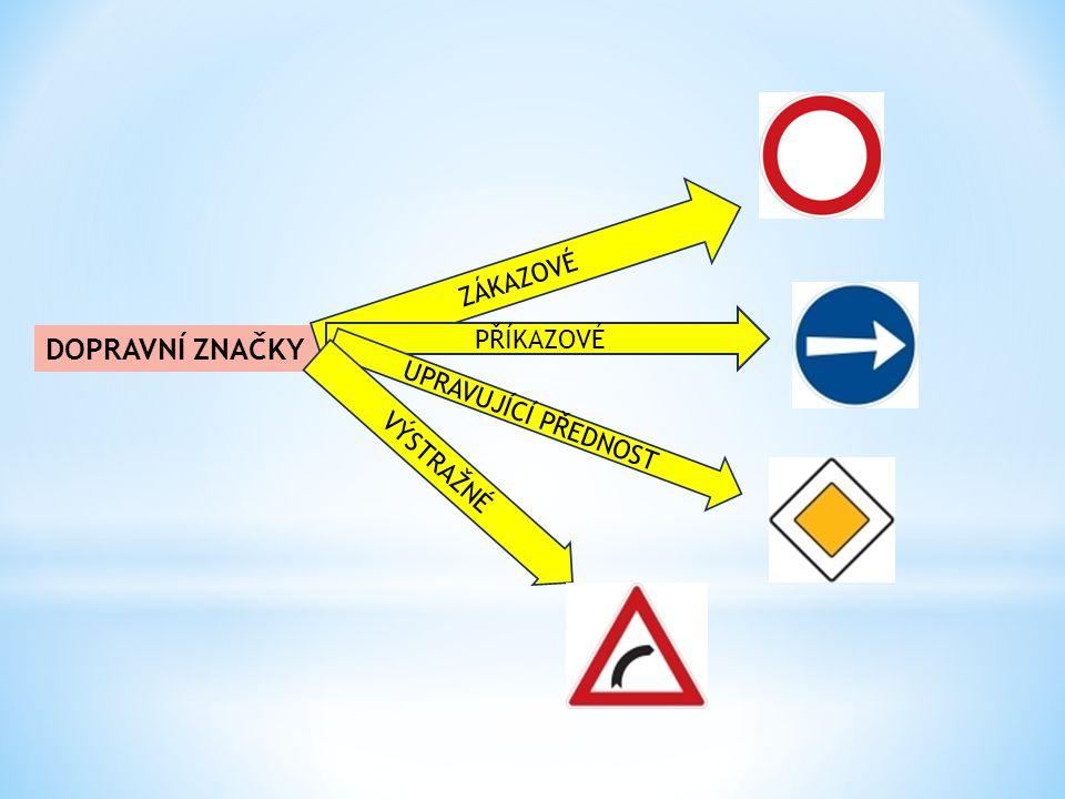 AnotaceMateriál obsahuje prezentaci dopravních značek, druhý soubor obsahuje interaktivní hry. AutorSoňa Koukalová Očekávaný výstupRozlišuje dopravní