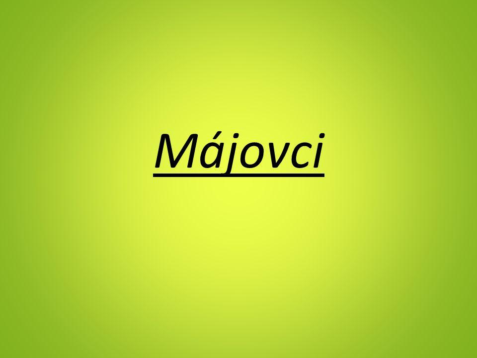 Májovci