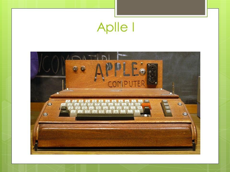 Aplle I