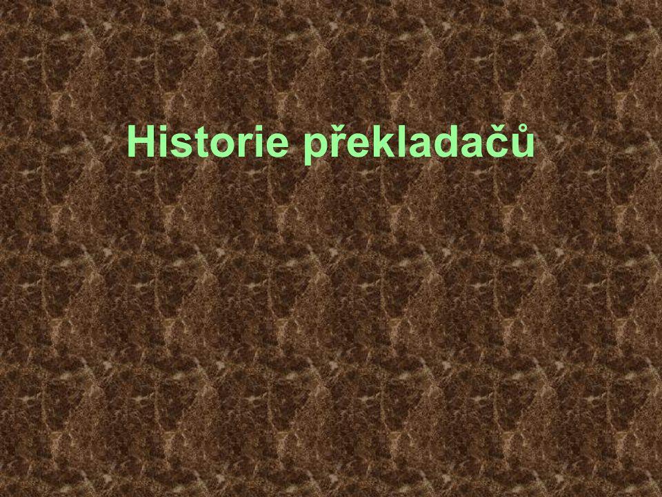 Historie překladačů