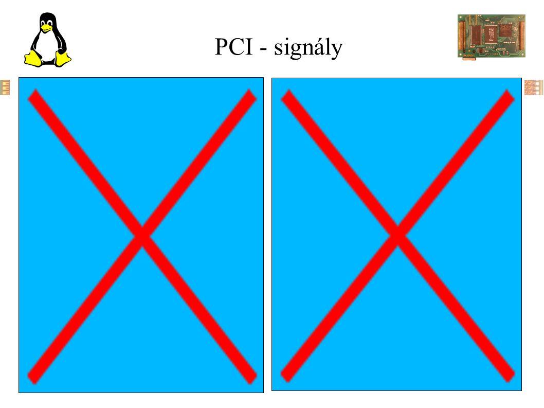 PCI - signály
