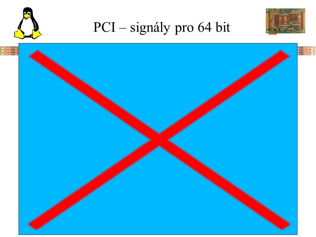 PCI – signály pro 64 bit