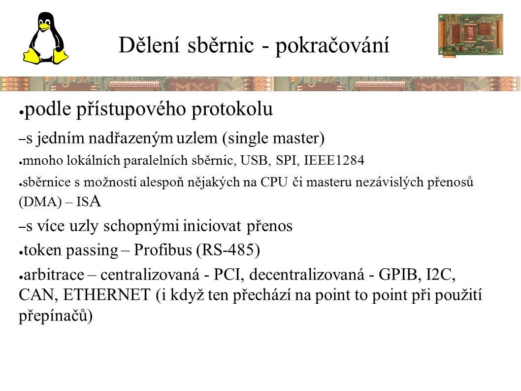 PCI – hierarchická architektura
