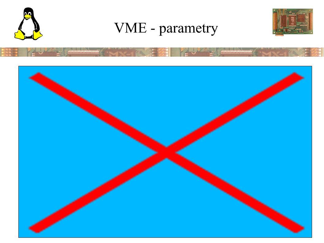 VXI - VMEbus eXtensions for Instrumentation ● definuje další signály na P2 pro měřící přístroje ● TTL a ECL triggery ● lokální sběrnice ● analogové sběrnice ● další napájecí napětí (  24 V, -2 a –5,2 V) ● automatická identifikaci a konfiguraci zasunutých modulů
