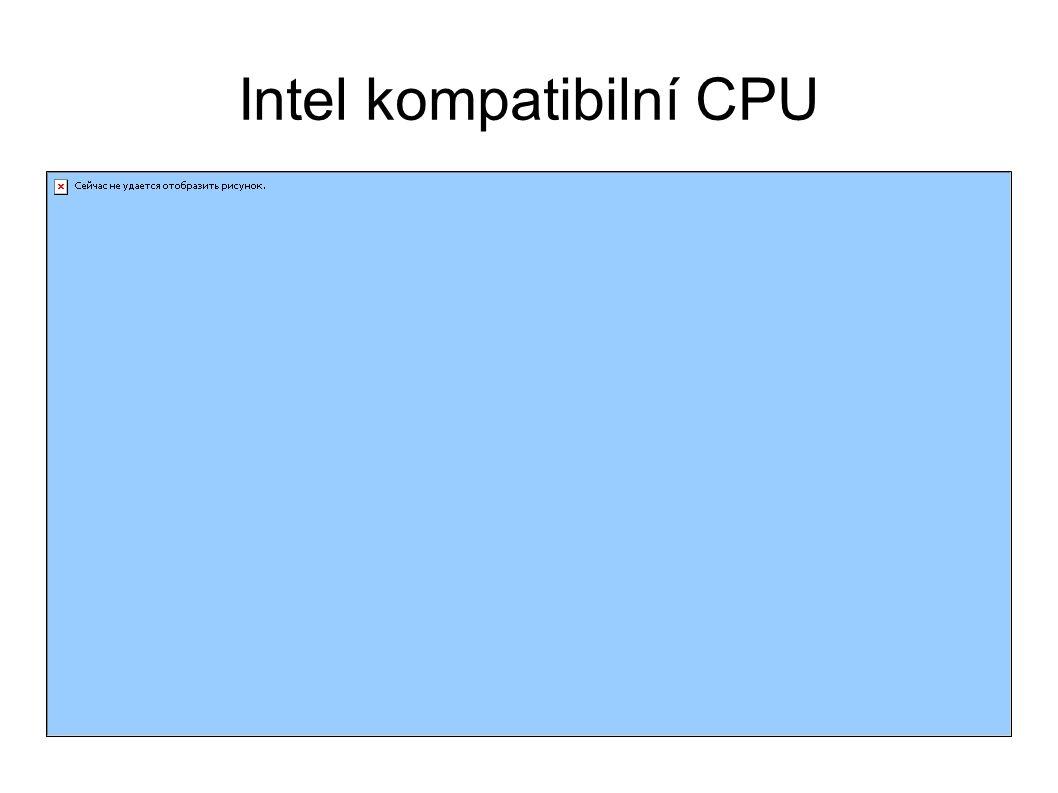 Intel kompatibilní CPU