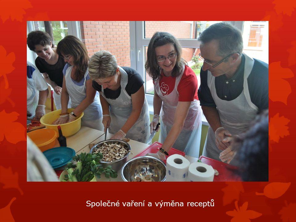 Společné vaření a výměna receptů