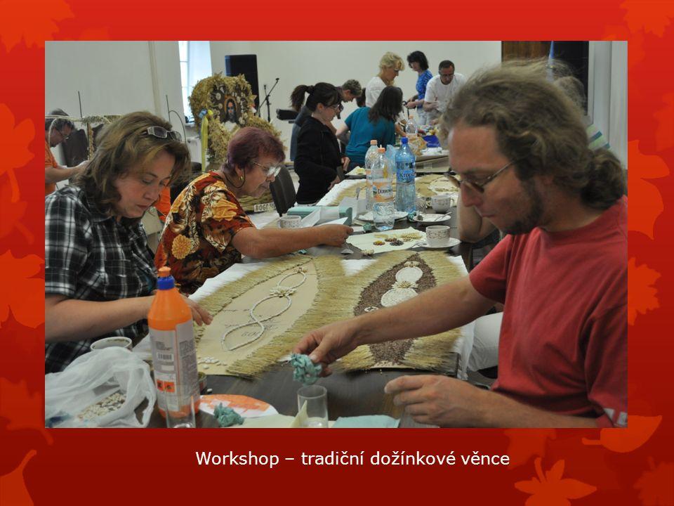 Workshop – tradiční dožínkové věnce