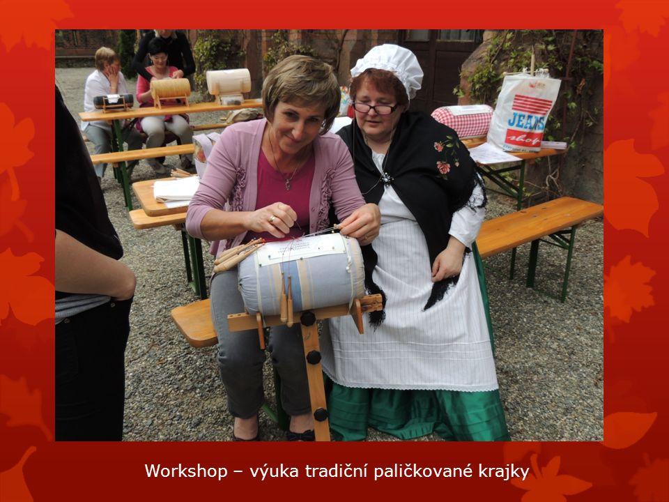 Workshop – výuka tradiční paličkované krajky
