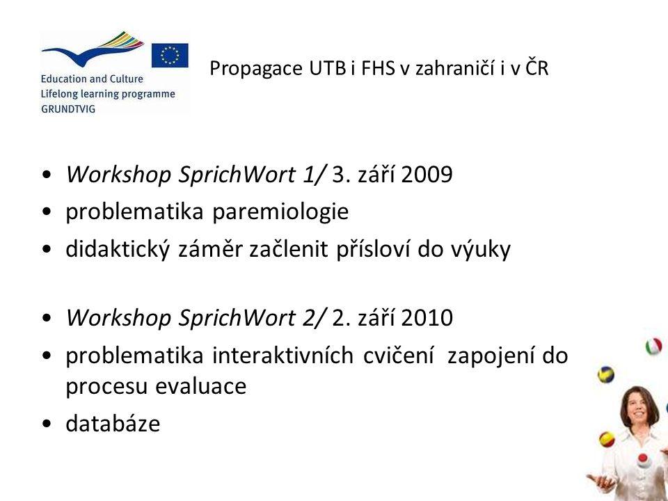 Workshop SprichWort 1/ 3.