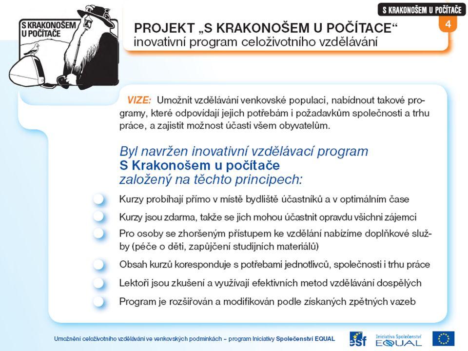 Projektové kurzy a cílové skupiny