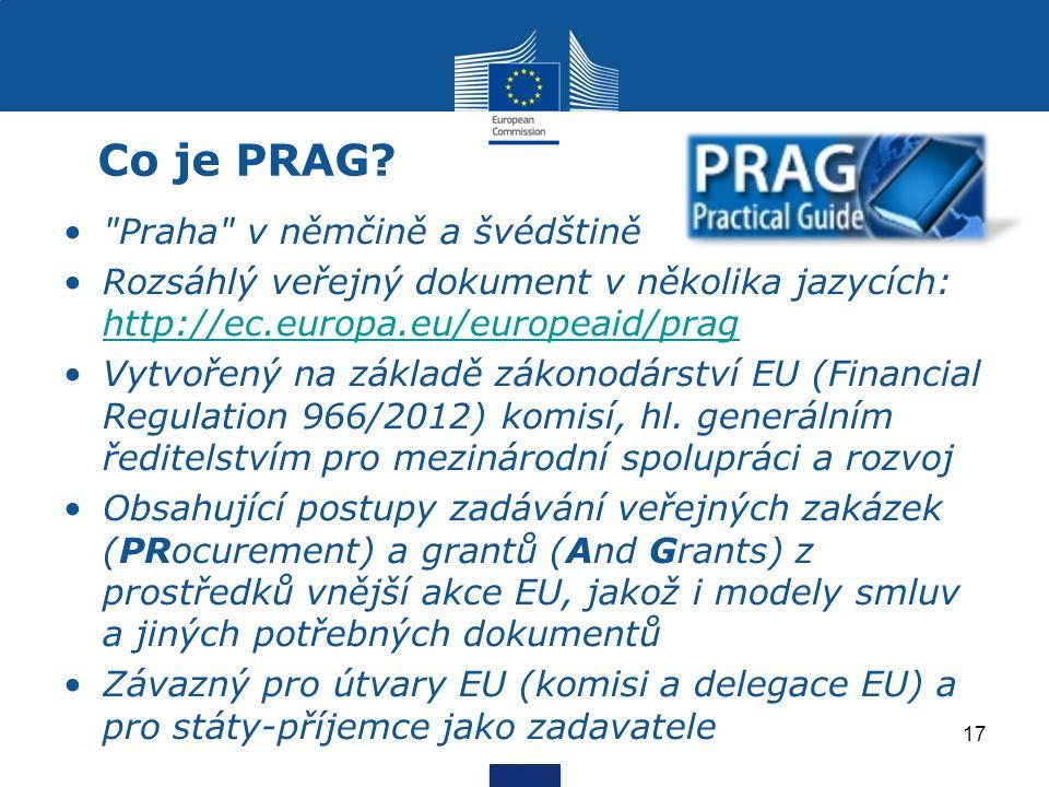 Co je PRAG.