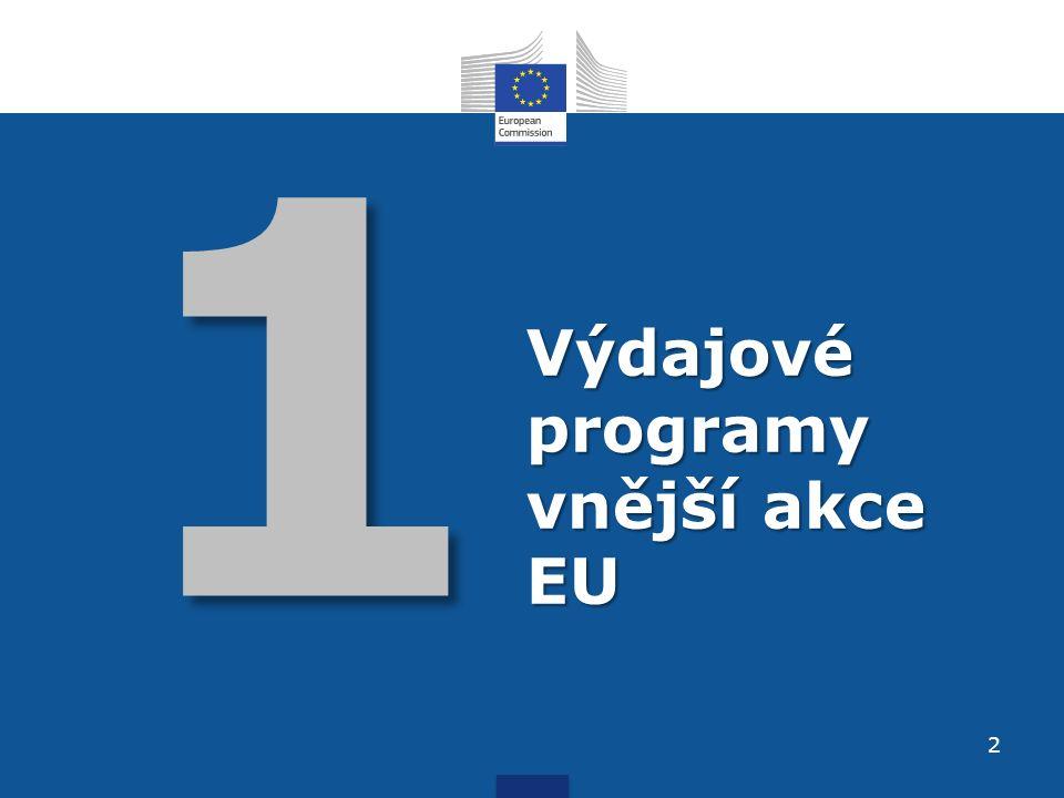 1 Výdajové programy vnější akce EU 2